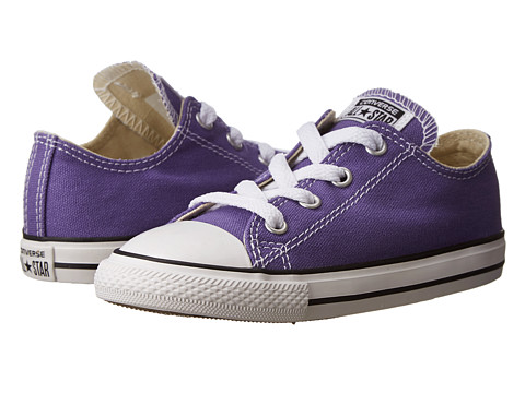 Converse Kids - Chuck Taylor All Star Ox (Infant/Toddler) (Hollyhock) Girls Shoes