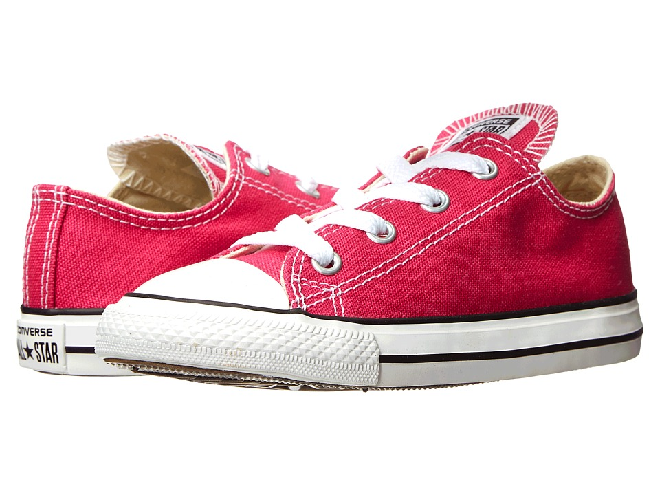 Converse Kids - Chuck Taylor(r) All Star(r) Ox (Infant/Toddler) (Cosmos Pink) Girls Shoes