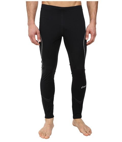 ASICS - Lite-Show Tight (Black) Men's Clothing