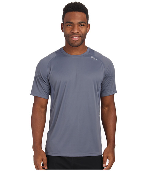 ASICS - Favorite Short Sleeve (Slate) Men's Workout