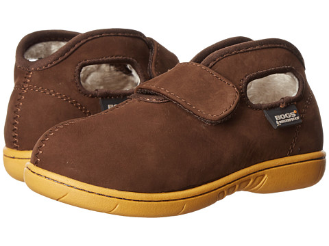 Bogs Kids - Baby Mid Nubuck (Toddler) (Chocolate) Boys Shoes