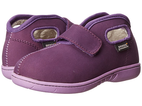 Bogs Kids - Baby Mid Nubuck (Toddler) (Purple) Girls Shoes