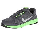 Nike Kids Fusion Run 3 (Little Kid) (Dark Grey/Electric Green/Wolf Grey/Metallic Silver)