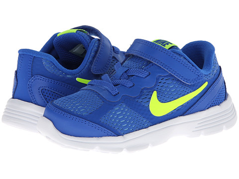 Nike Kids - Fusion Run 3 (Infant/Toddler) (Hyper Cobalt/University Blue/White/Volt) Boys Shoes