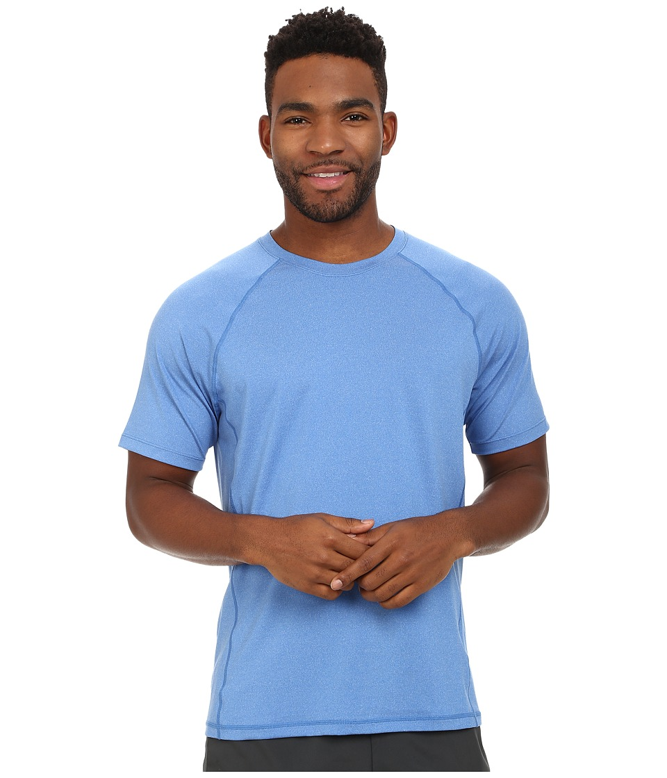 ASICS - Everyday III Short Sleeve (New Blue Heather) Men's Clothing