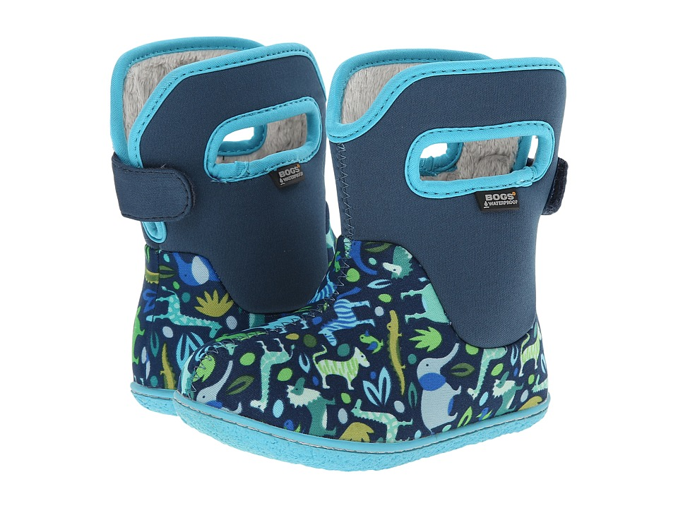 Bogs Kids - Zoo (Toddler) (Blue) Kids Shoes