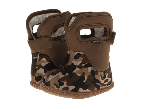 Bogs Kids - Classic Camo (Toddler) (Chocolate Multi) Kids Shoes