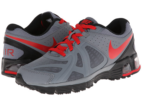 Nike Kids - Air Max Run Lite 5 (Big Kid) (Cool Grey/Black/University Red) Boys Shoes