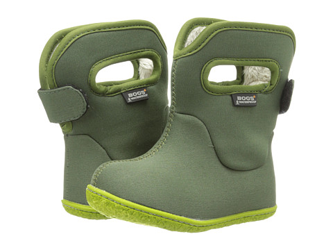 Bogs Kids - Baby Classic Solid (Toddler) (Olive) Kids Shoes
