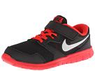 Nike Kids Flex Experience 3 (Little Kid) (Black/Challenge Red/Bright Mango/Metallic Silver)