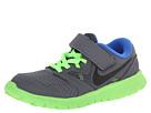 Nike Kids Flex Experience 3 (Little Kid) (Dark Grey/Electric Green/Hyper Cobalt/Black)