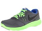 Nike Kids Flex Experience 3 (Big Kid) (Dark Grey/Electric Green/Hyper Cobalt/Black)