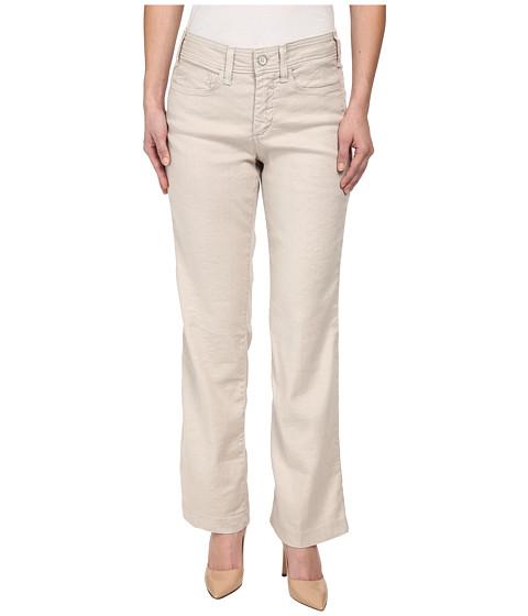 NYDJ Petite - Petite Wylie Trouser Linen-Blend (Sand Dollar) Women's Casual Pants