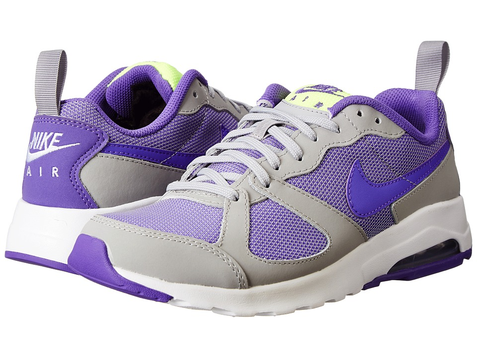 Nike - Air Max Muse (Wolf Grey/White/Volt/Hyper Grape) Women's Shoes