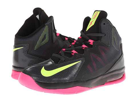 Nike Kids - Air Max Stutter Step 2 (Big Kid) (Anthracite/Black/Hyper Pink/Volt) Boys Shoes