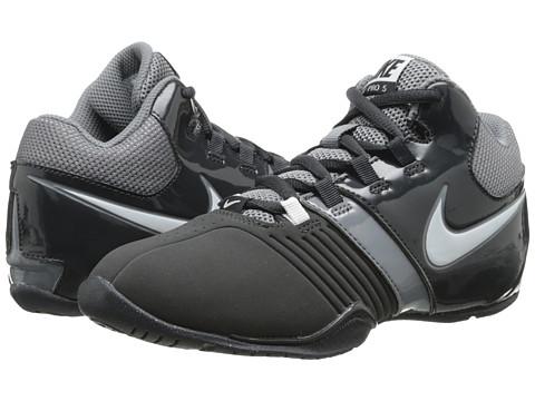 Nike Kids - AV Pro V (Little Kid/Big Kid) (Anthracite/Cool Grey/White) Boys Shoes