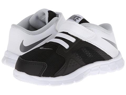 Nike Kids - Flex Supreme TR 3 (Infant/Toddler) (Black/White/Pure Platinum/Cool Grey) Boys Shoes