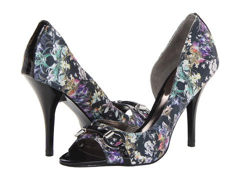 CARLOS by Carlos Santana - Roulette (Orchid Print Fabric) High Heels