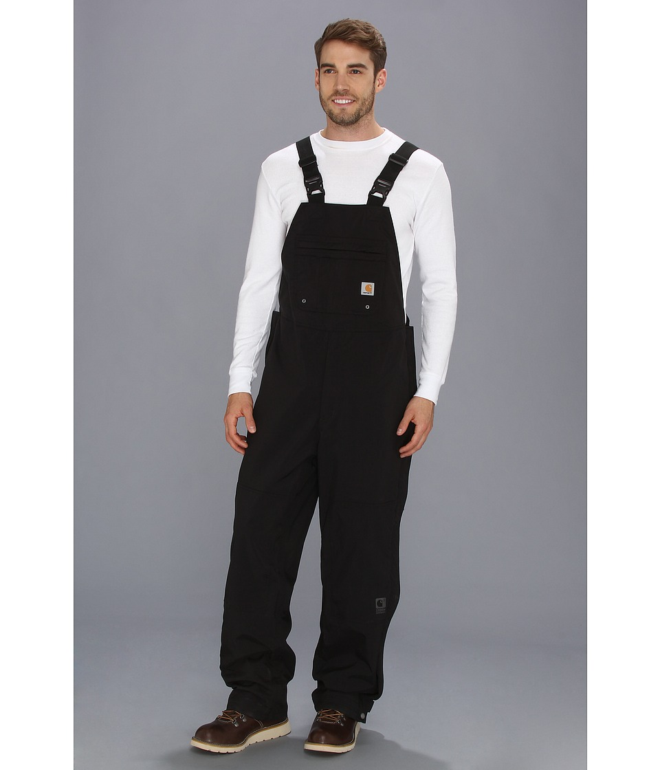 Carhartt - Shoreline Bib Overall (Black) Men's Overalls One Piece