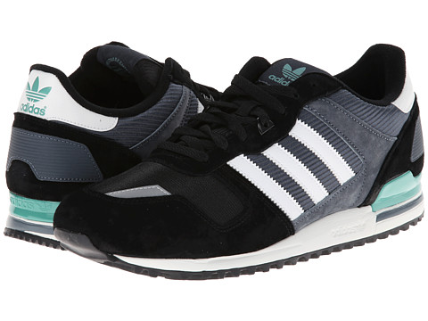 adidas Originals - ZXZ 700 (Black/Core White/St Fade Ocean) Men