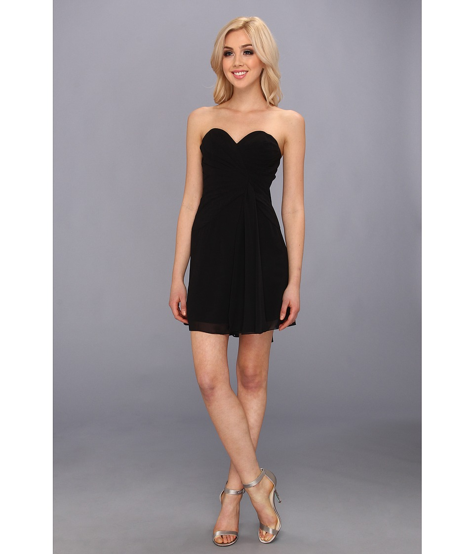 Faviana - Short Strapless Sweetheart Dress 7075A (Black) Women's Dress
