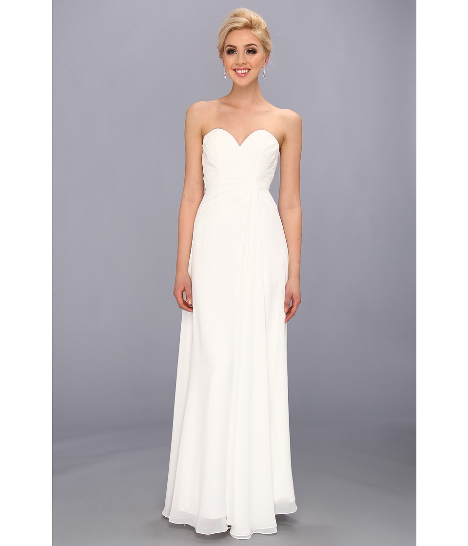 Faviana - Strapless Sweetheart Dress 6428 (Ivory) Women's Dress