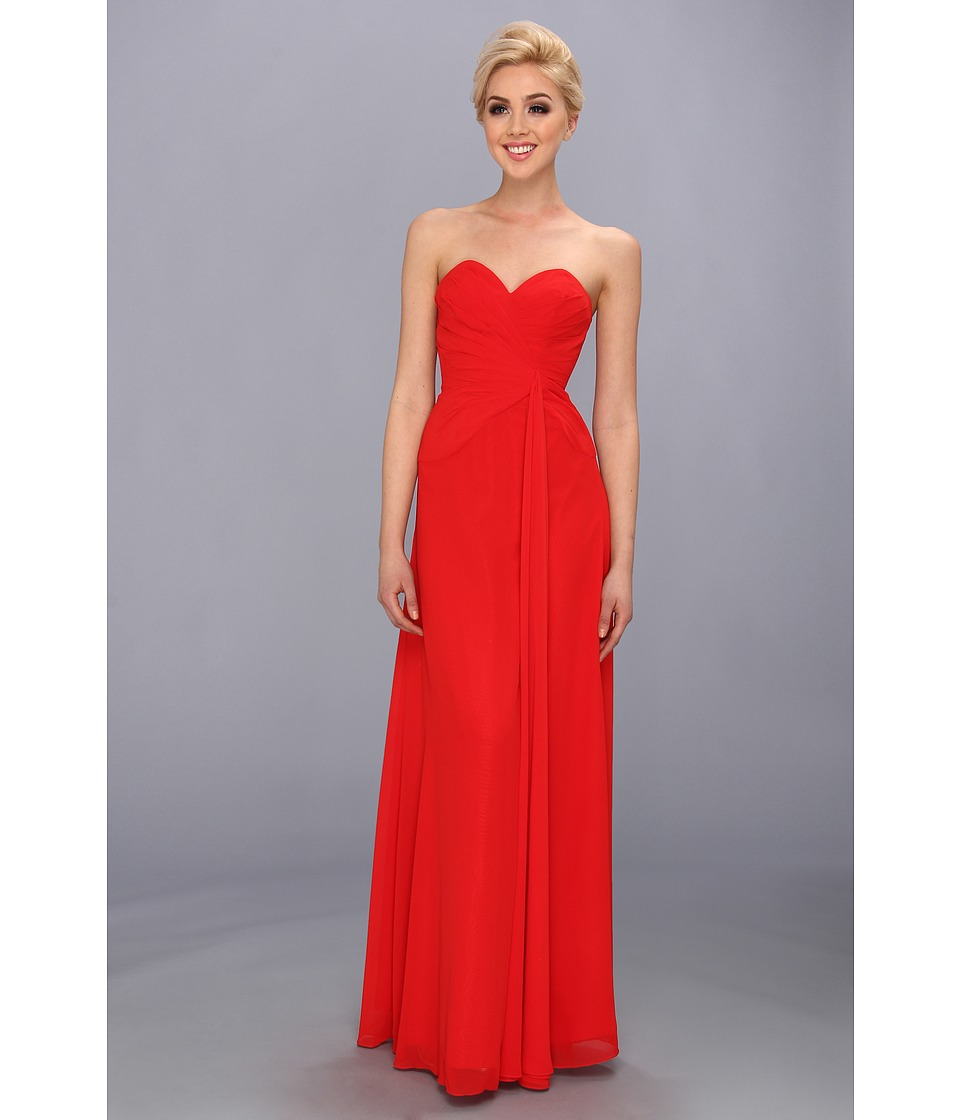 Faviana - Strapless Sweetheart Dress 6428 (Red) Women's Dress