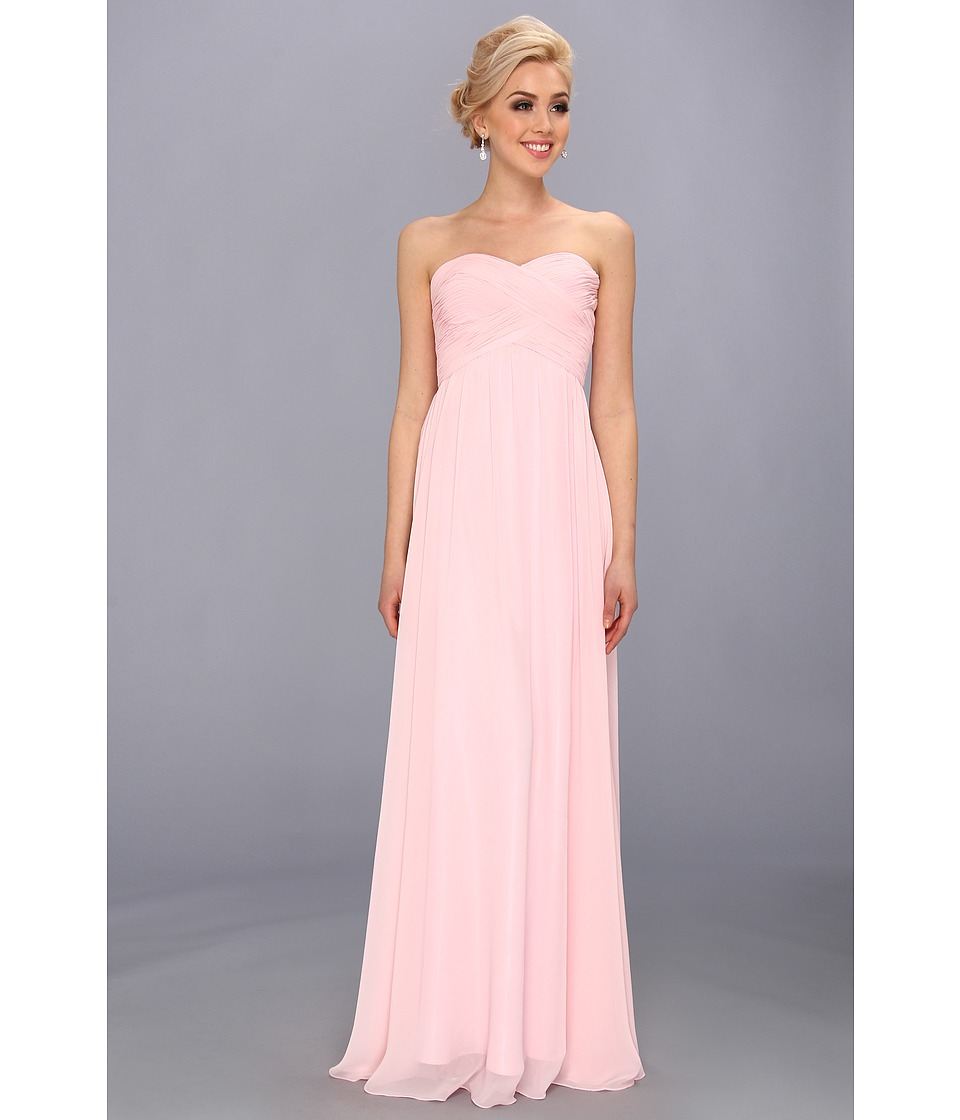 Faviana - Strapless Sweetheart Chiffon Dress 7338 (Ice Pink) Women's Dress