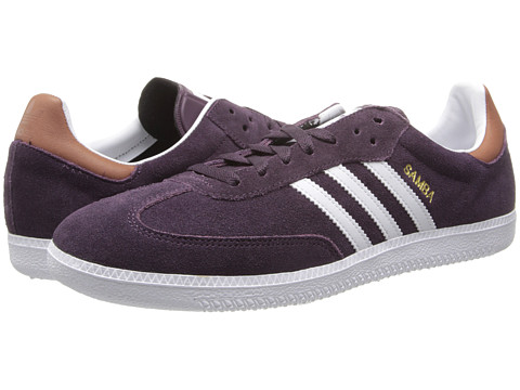adidas Originals - Samba (Rich Red/Core White/Gold Metallic) Men