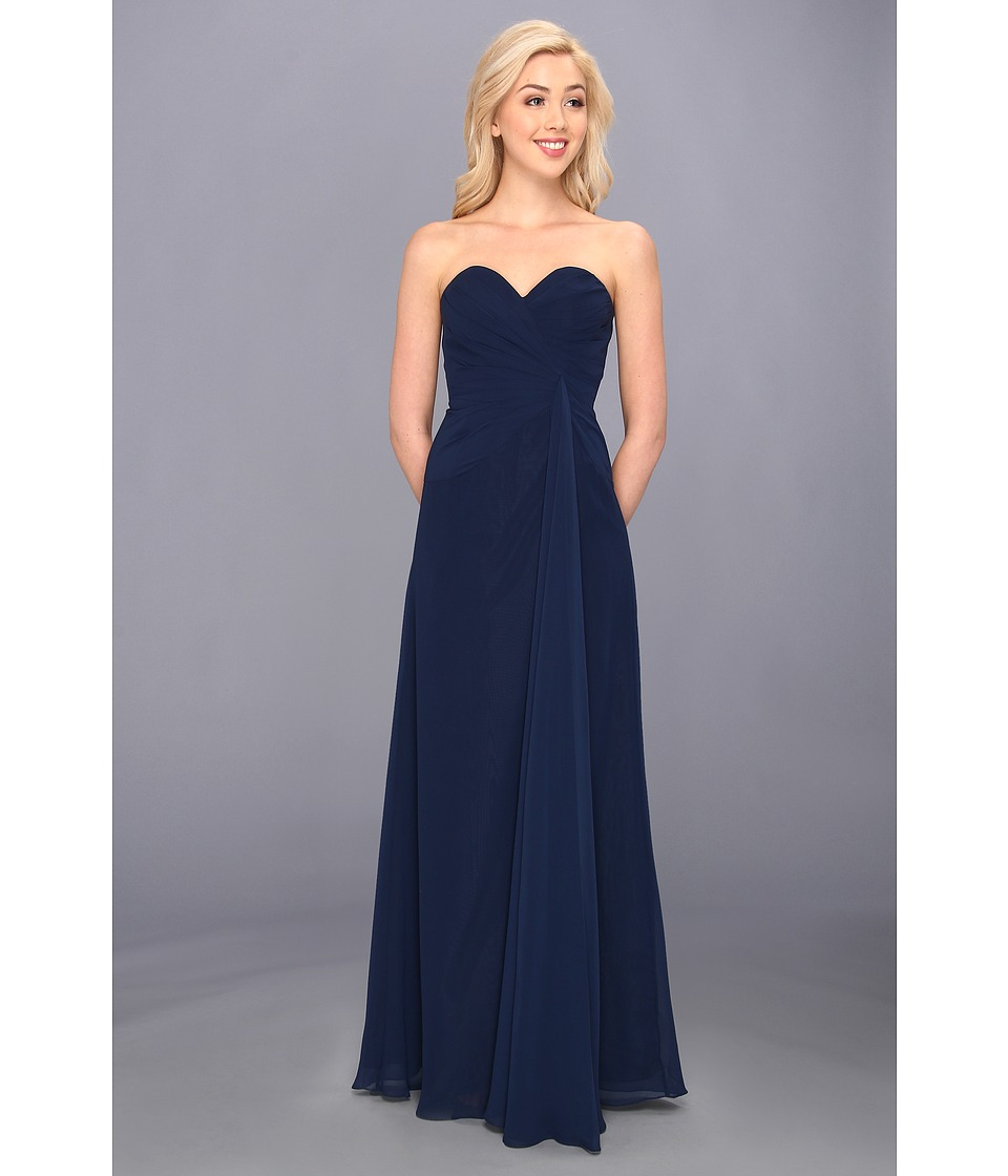 Faviana - Strapless Sweetheart Dress 6428 (Navy) Women's Dress