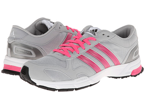 adidas Running - Marathon 10 NG (Clear Onix/Solar Pink/Black) Women's Shoes