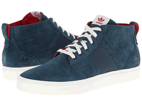 adidas Originals - Army TR Chukka (Dark Petrol/White Vapor/Power Red) Men's Classic Shoes