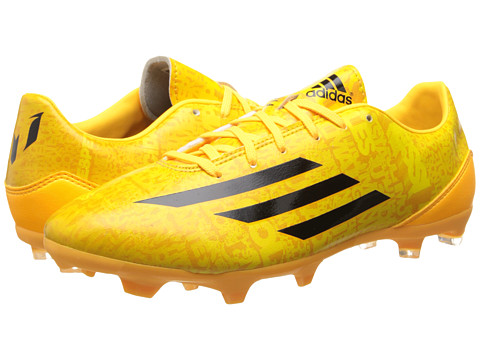 adidas - F10 FG Messi (Solar Gold/Black/Black) Men's Soccer Shoes