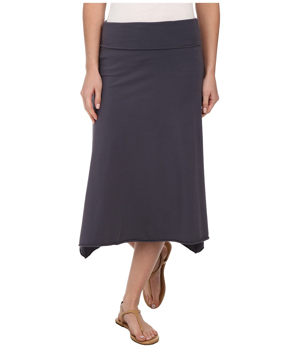 Allen Allen - Asymmetrical Skirt (Flint) Women's Skirt