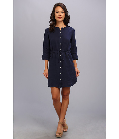 Allen Allen - Henley Dress (Lapis) Women's Dress