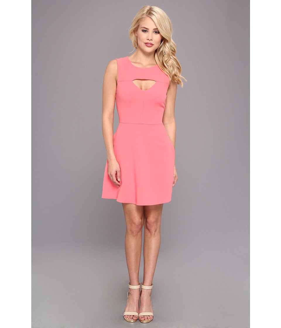 French Connection - Feather Ruth Cut Out 71EZF (Party Pink) Women's Dress