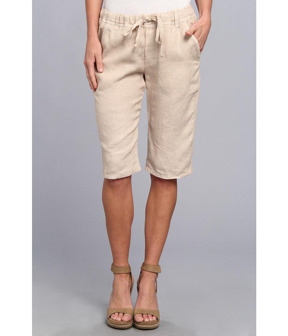 Allen Allen - Trouser Bermuda Short (Sand) Women's Shorts