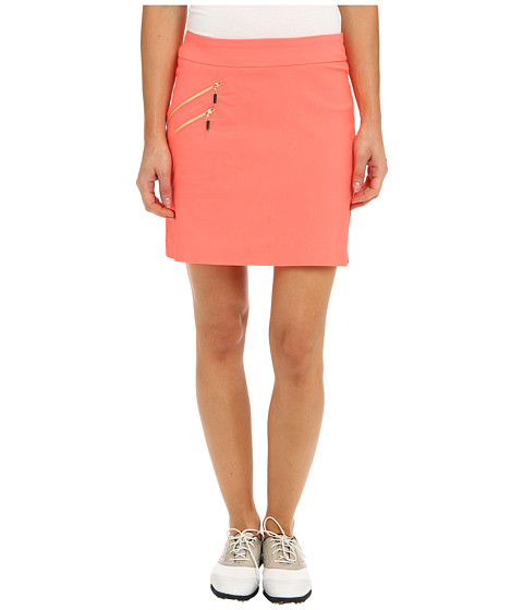 Jamie Sadock - Skinnylicious 18 in. Skort with Control Top Mesh Panel (Hokie Pokie) Women