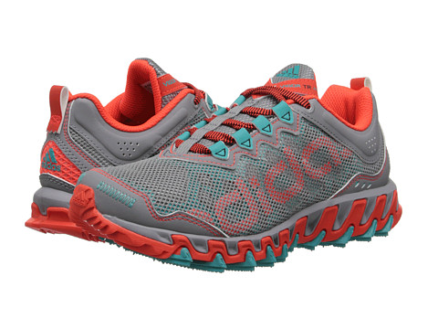 adidas Running - Vigor 4 TR (Clear Grey/Vivid Mint/Solar Red) Women