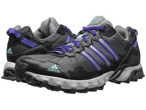 adidas Running - Thrasher 1.1 W (Grey/Solid Grey/Power Purple) Women's Running Shoes