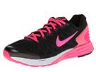 Nike Kids Lunarglide 6 (Big Kid) (Black/White/Hyper Pink)