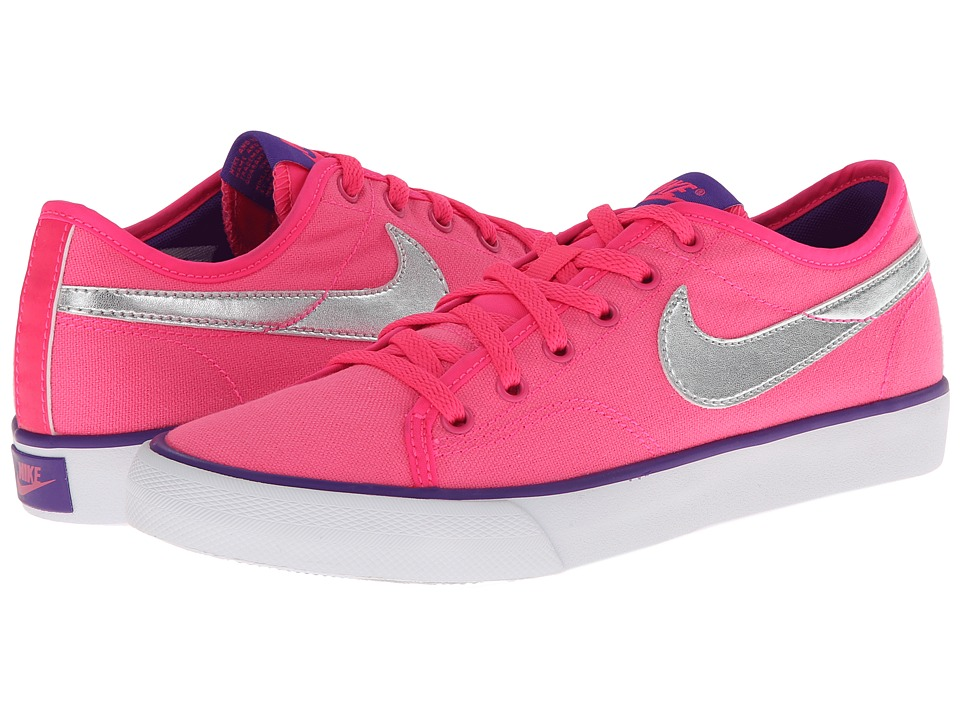 Nike - Primo Court Canvas (Hyper Pink/Hyper Grape/White/Metallic Silver) Women's Shoes