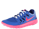 Nike Kids Free 5 (Little Kid) (Hyper Cobalt/Deep Royal Blue/White/Hyper Pink)