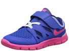 Nike Kids Free 5 (Infant/Toddler) (Hyper Cobalt/Deep Royal Blue/White/Hyper Pink)