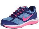 Nike Kids Dual Fusion Run 3 (Big Kid) (Deep Royal Blue/University Blue/White/Hyper Pink)