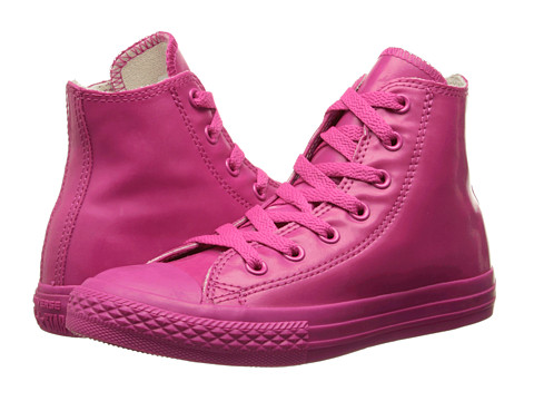 Converse Kids - Chuck Taylor All Star Hi Rubber (Cosmos Pink) Kids Shoes