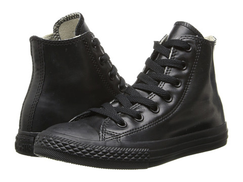 Converse Kids - Chuck Taylor All Star Hi Rubber (Black) Kids Shoes