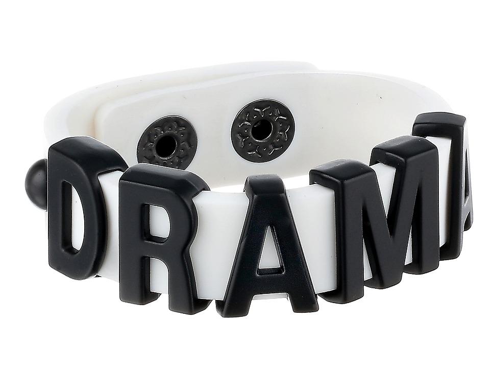 BCBGeneration - Jelly Affirmation Bracelet (Drama/Black/White) Bracelet