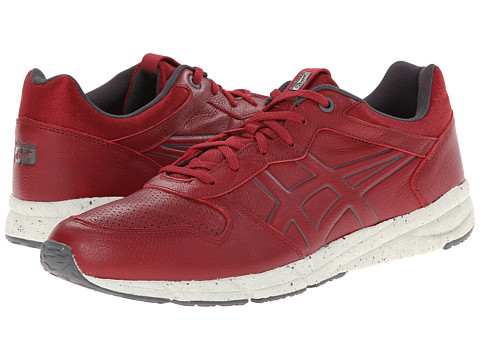 Onitsuka Tiger by Asics - Shaw Runner (Burgundy/Burgundy) Lace up casual Shoes