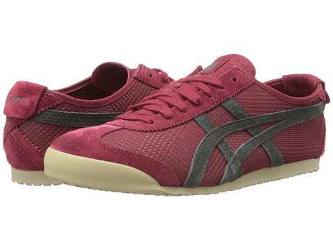 Onitsuka Tiger by Asics - Mexico 66 (Wine/Dark Grey) Shoes